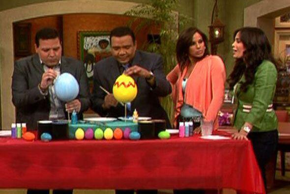 Para celebrar la Pascua, los presentadores de Despierta América p...