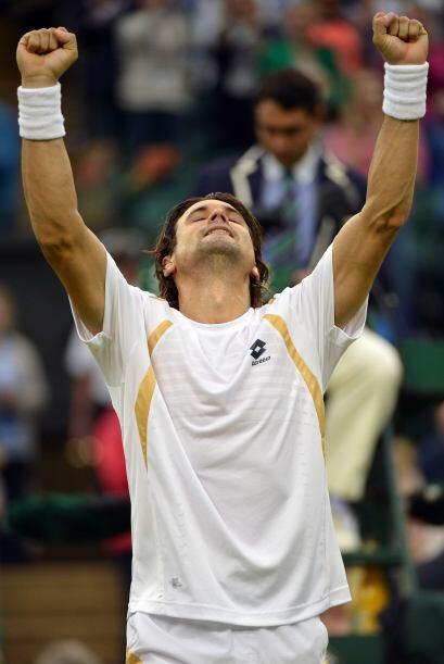 Ferrer alcanza por vez primera unos cuartos de final en el Grand Slam so...