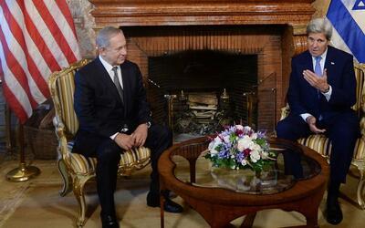 La guerra de palabras entre John Kerry y Benjamín Netanyahu sobre la sol...
