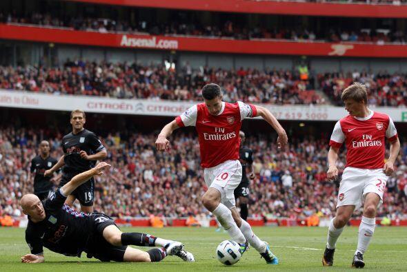 Pero Arsenal no tuvo su mejor partido en lo que va del torneo.