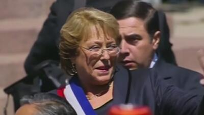 Michelle Bachelet asumió la presidencia de Chile