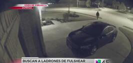 Buscan a presuntos ladrones captados en video en Fulshear