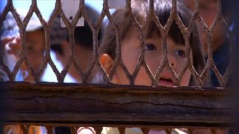 Miles de niños tratan de llegar a EU en busca de sus padres.