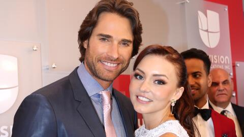 Angelique Boyer y Sebastián Rulli.