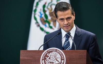 Peña Nieto hace este anuncio en medio de una lluvia de crí...