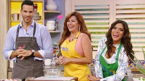 Carmen Jara hizo sonrojar al Chef Jesús al preparar estas chuletas con s...