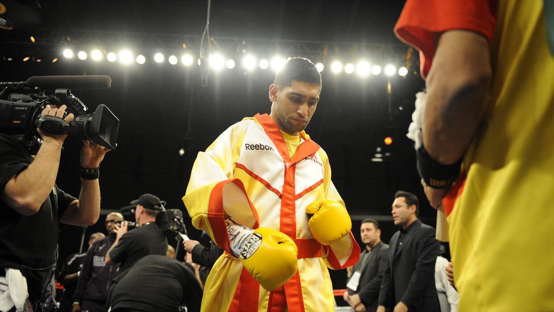 Khan quería pelear con Mayweather Jr.