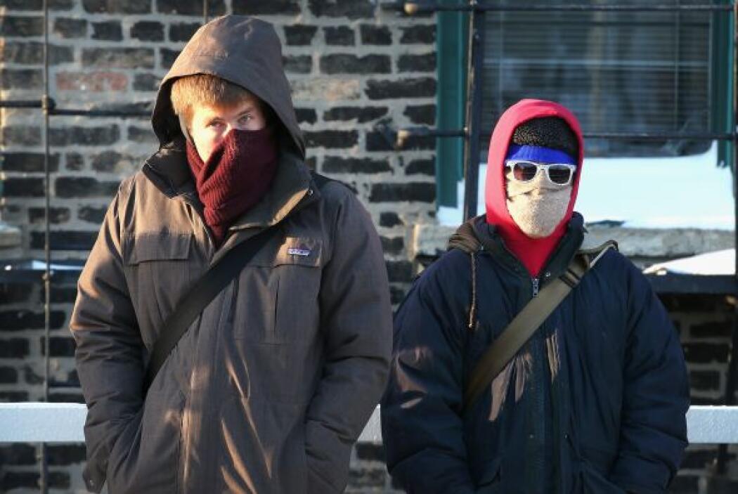 Chicago sufre su tercer día consecutivo de temperaturas bajo cero.