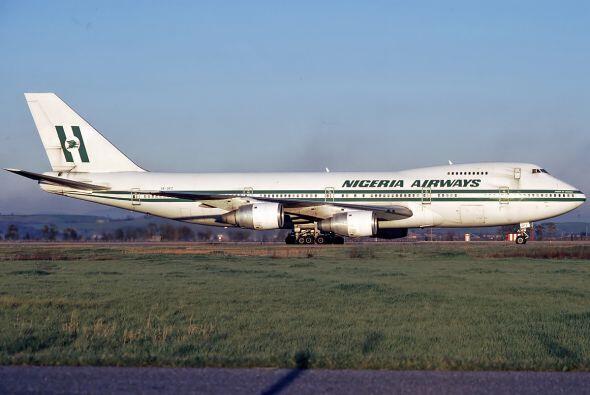 46- Según las estadísticas de B3A, aviones de la extinta Nigeria Airways...