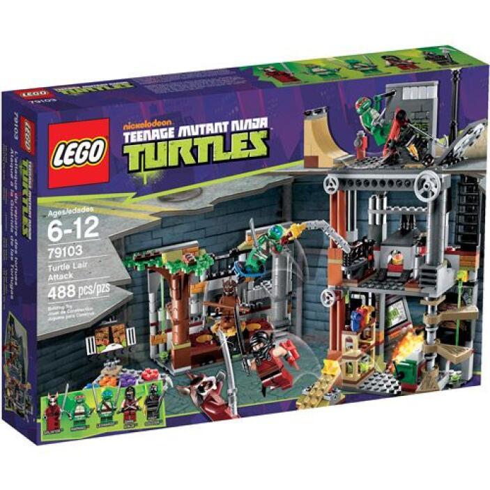 """""""Ataque a la Guarida de las Tortugas Lego"""": nadie se podrá aburrir con e..."""