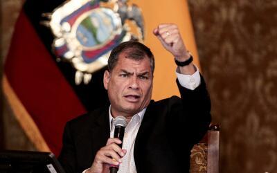 Correa dejará el poder en mayo después de más de un...