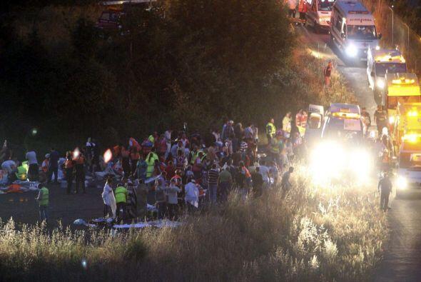 El incidente ocurrió en las proximidades de Santiago de Compostela.