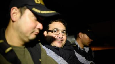 El exgobernador de Veracruz, Javier Duarte, capturado en Guatemala.