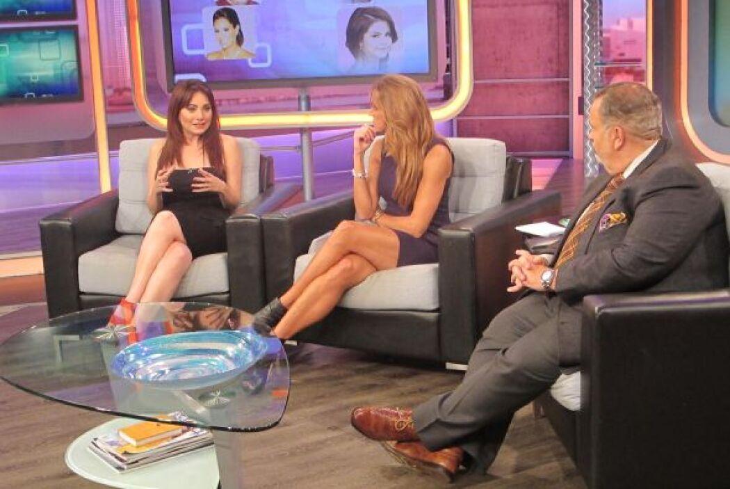 La actriz nos contó del pleito que vivieron Andrés García y Ninel Conde.