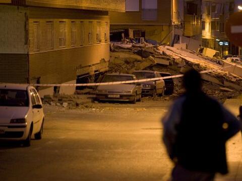 Un fuerte temblor de 5.2 grados en la escala de Richter sacudó la...