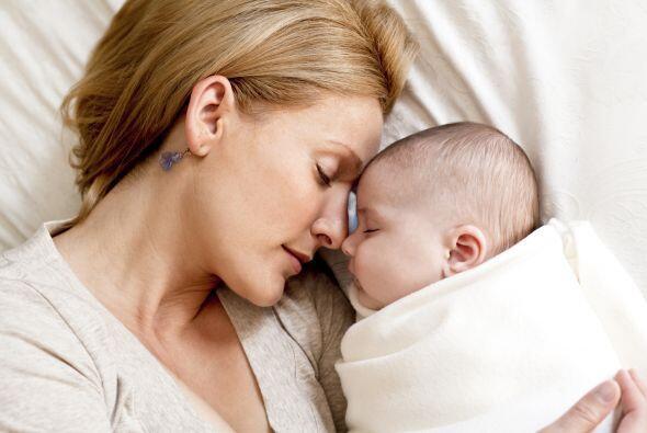 Estos beneficios no son sólo para el bebé sino para la madre también, pu...