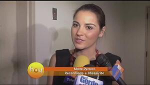 Maite Perroni y Eugenio Derbéz recuerdan a Roberto Gomez Bolaños y lamen...