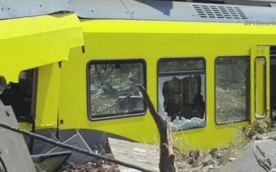 Choque entre dos trenes dejó un saldo mortal