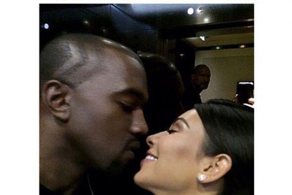 Sin duda un gran regalo para su primer aniversario de bodas con Kanye West.