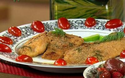 El chef Pepin preparó un 'Pescado para Enamorados'