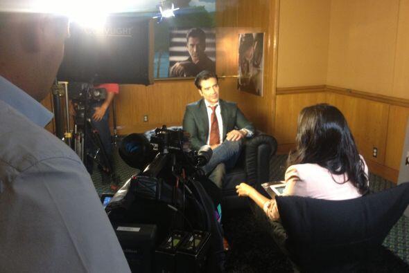 Mira las fotos de la entrevista exclusiva que 'El Potrillo' concedió a M...
