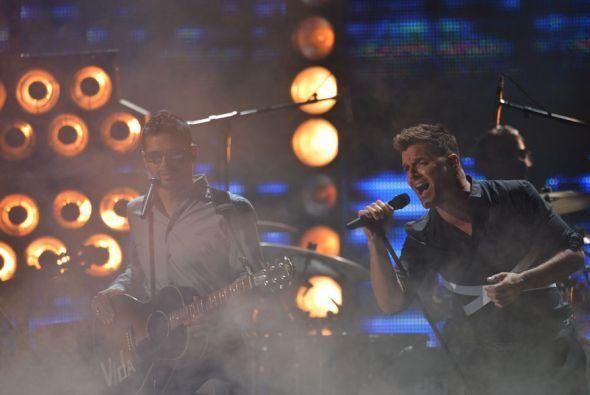 """Los puertorriqueños se robaron el show con el tema """"Más y más""""."""