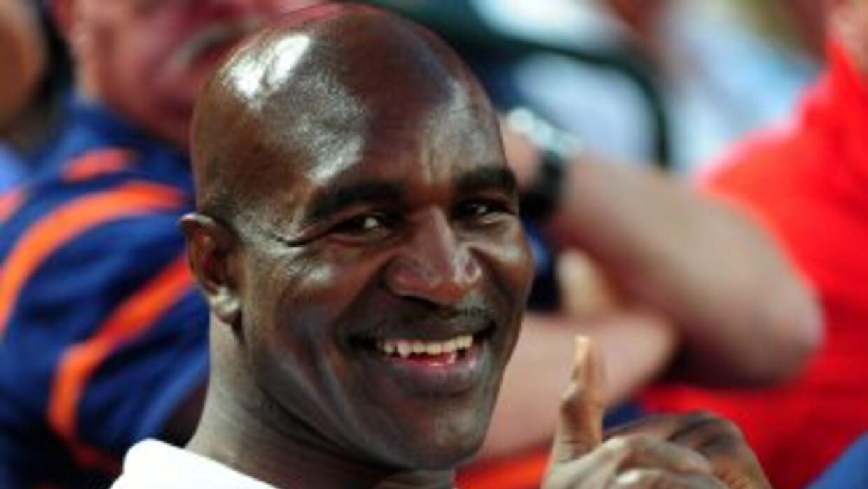 El ex pugilista, quien años atrás fue mordido en la oreja por Mike Tyson...