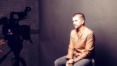 detrás de cámaras con Juanes