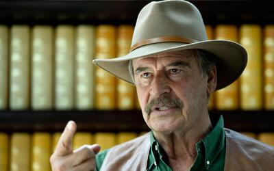 Vicente Fox no quiere que Donald Trump le pida dinero