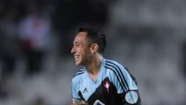 Fabián Orellana anotó dos goles para el Celta.