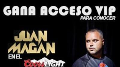 Para tu oportunidad de ganar acceso VIP para conocer a Juan Magan en el...