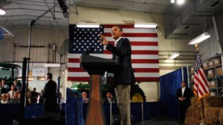 El presidente de Estados Unidos hará su discurso poco después del feriad...