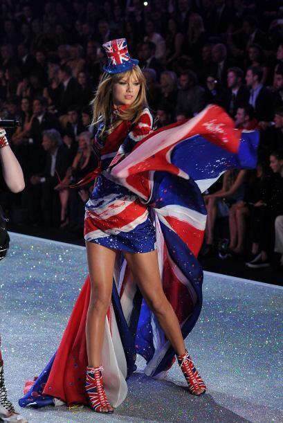 Pero no es la primera vez que Taylor vive bochornosos instantes en el es...