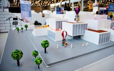 Complejo de diversión construido con piezas de LEGO se inaugurará en Bil...