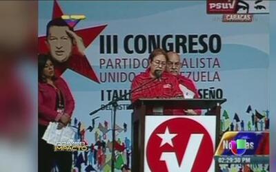 Partidistas de Hugo Chávez le rezan el 'Padre Nuestro'