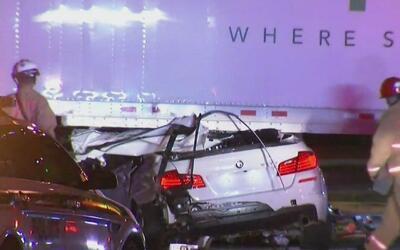 Una persona muerta y otra herida es el saldo de un accidente de tránsito...