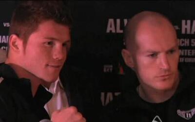 'Canelo' y Hatton, listos para su pelea