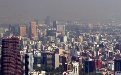 Imagen panorámica de la Ciudad de México