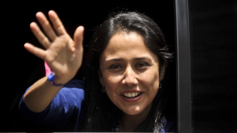 La primera dama de Perú, Nadine Heredia