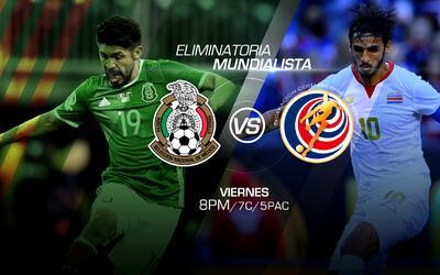 México y Costa Rica buscan demostrar cuál es el gigante de CONCACAF; EEU...