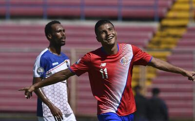 Costa Rica no perdona y golea a Belice en la Copa Centroamericana