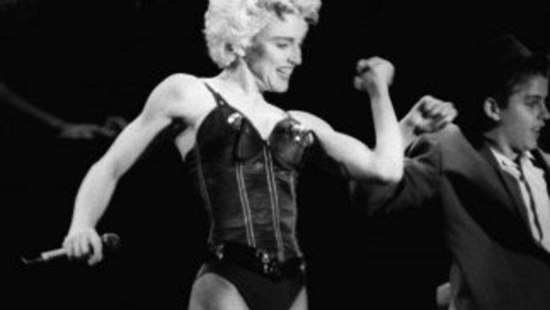 Cuando Madonna fue fotografiada era tan sólo una estudiante de arte.