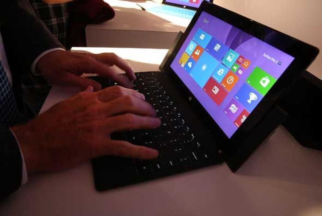 La Microsoft Surface Pro 2 es más compacto que un ultrabook pero cuenta...