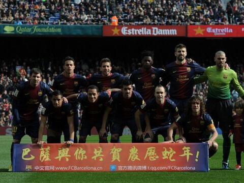 Barcelona llegaba a la fecha 23 de la Liga española abriendo plaz...