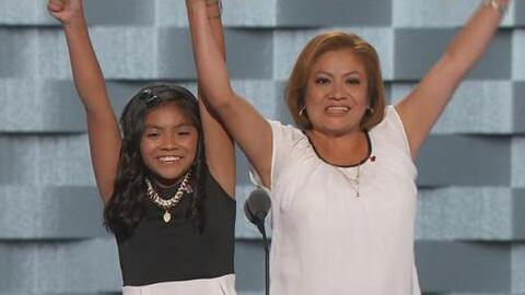 Karla, la hija de padres indocumentados que hizo llorar a la Convención...