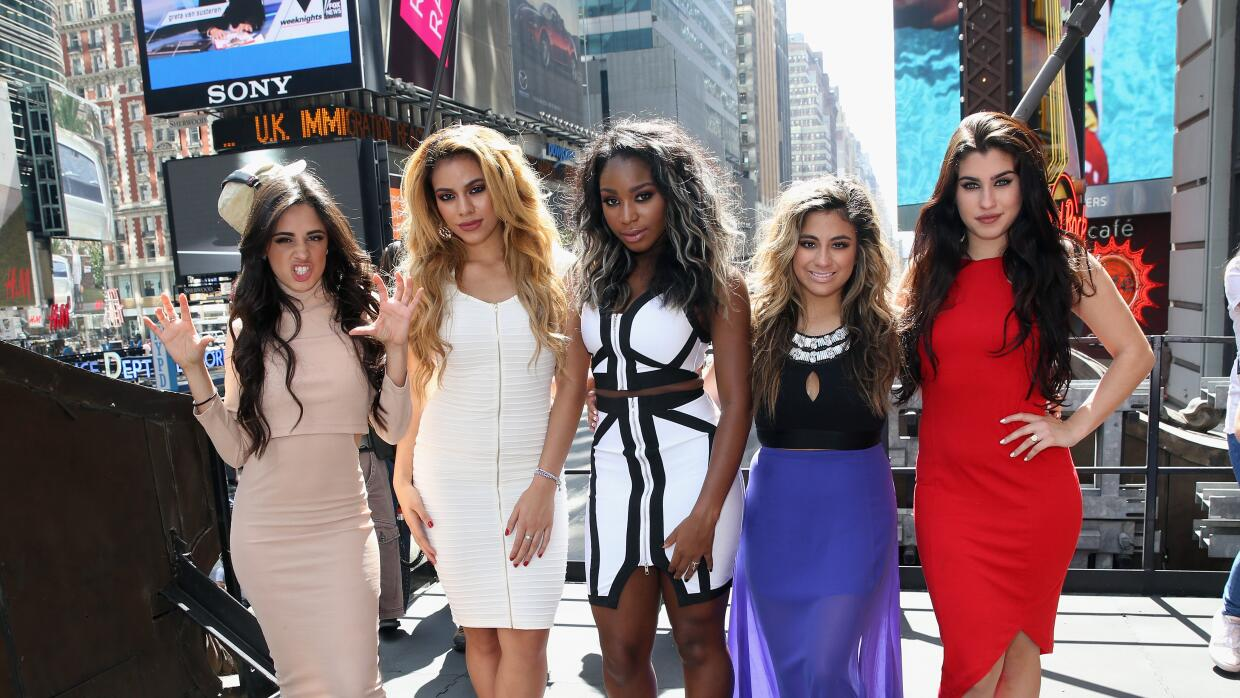 NEW YORK, NY - AUGUST 27: Camila Cabello, Dinah-Jane Hansen, Normani Kor...