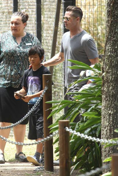 La pareja los llevó a un parque muy especial en Australia.  Mira...
