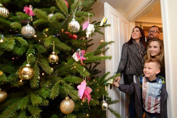 Este acto caritativo les devolvió la sonrisa a la familia puesto que el...