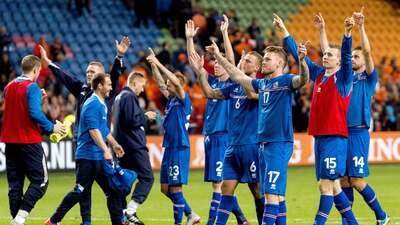 Islandia amarra su pase a la Euro 2014