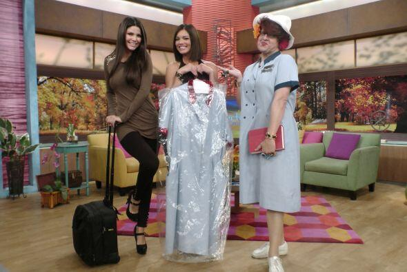 Doña Meche contrató a los mejores para que le hicieran una prenda lujosa...